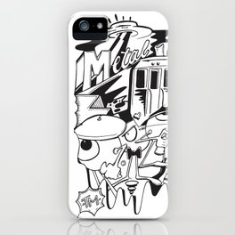 Metal Guru iPhone Case