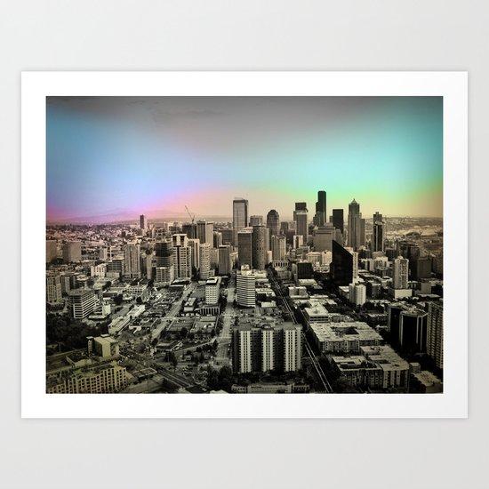 Run This City Art Print