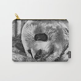 AnimalArtBW_Panda_20170810_by_JAMColorsSpecial Carry-All Pouch