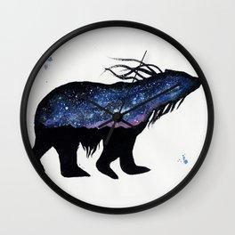 Milky Way Bear Wall Clock
