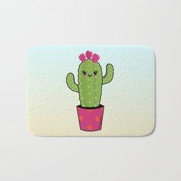 Cactus kawaii Bath Mat