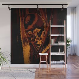 Scary Selphie  Wall Mural