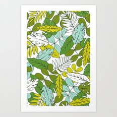 Modern Tropics Art Print