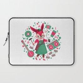 HipsterQueen Rabbit Laptop Sleeve