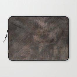 Brown dark misty look Laptop Sleeve