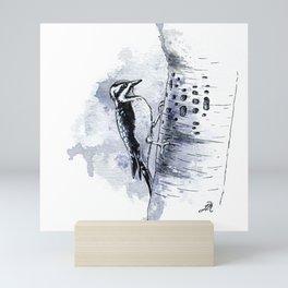 Woodpecker Mini Art Print