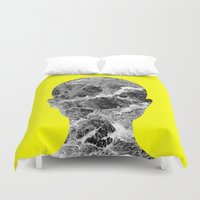 conan Duvet Covers featuring Conan by Tyler Spangler