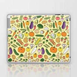 Veggie Friends Doodle Laptop & iPad Skin