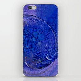 Blueberry Swirl iPhone Skin