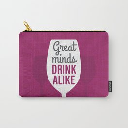 Wine Great Minds Carry-All Pouch