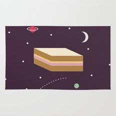 Ham & Cheese in Space Rug