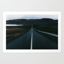 Iceland - Roadtrip (Leica M3 & Kodak film) Art Print