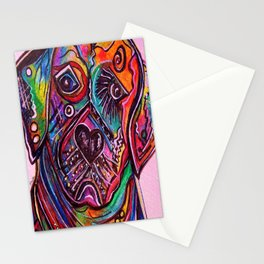 Lovable Lab Stationery Cards