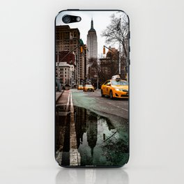 23rd Street Puddles iPhone Skin