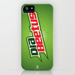 Diabeetus iPhone Case
