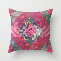 beth hoeckel Throw Pillows featuring beth by littlehomesteadco
