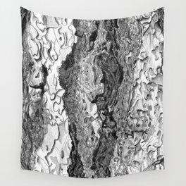 Ponderosa Pine- Tree Bark Wall Tapestry