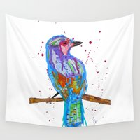 coco Wall Tapestries featuring coco by Laurie Art Gallery