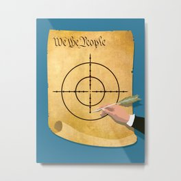 The President Has Constitutional Power To Target And Kill U.S. Citizens Abroad Metal Print
