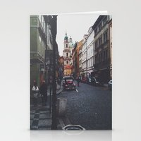 prague Stationery Cards featuring PRAGUE by REASONandRHYME