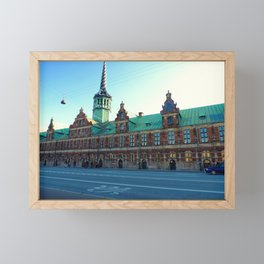 The Old Stock Exchange in Copenhagen Framed Mini Art Print