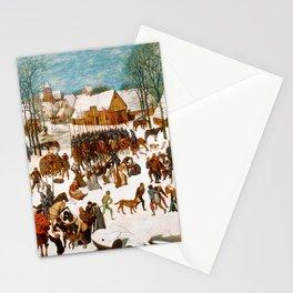 """Pieter Bruegel (also Brueghel or Breughel) the Elder """"Massacre of the Innocents Stationery Cards"""