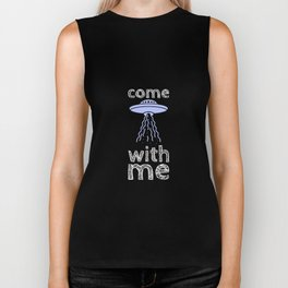 come with me Biker Tank