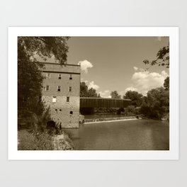 bollinger mill 5 Art Print