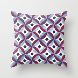 Blackberry Sorbet (2) Throw Pillow