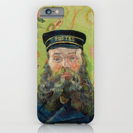 The Postman by Vincent van Gogh iPhone Case