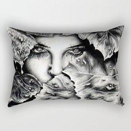 Veiled Shadow Rectangular Pillow