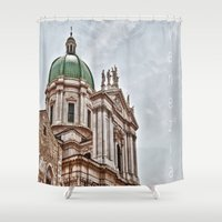 italy Shower Curtains featuring Italy by LaiaDivolsPhotography