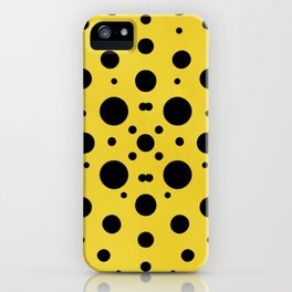 Kusama Made Me Do It iPhone Case
