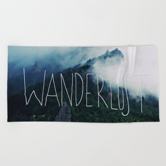 Wanderlust: Columbia River Gorge Beach Towel
