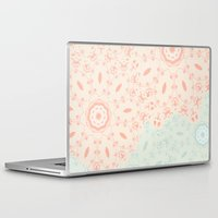 lace Laptop & iPad Skins featuring Lace by LindsayMichelle
