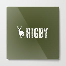 Deer: Rigby, Idaho Metal Print
