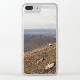 Bleak Beauty 8 Clear iPhone Case
