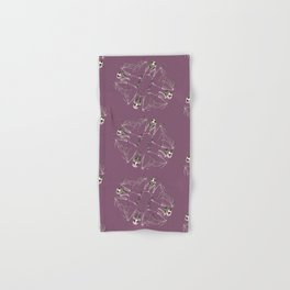Bat Skeleton Mandala Hand & Bath Towel