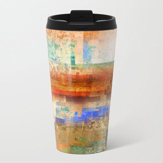 utah 2 Metal Travel Mug
