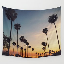 Palm Tree Summer Wall Tapestry