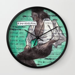 Overpopulation / A Pop Revolution Wall Clock