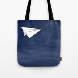 Paper Airplane Tote Bag