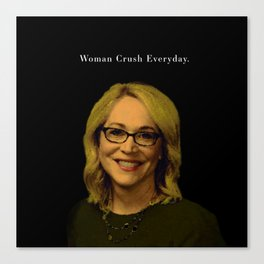 Woman Crush Everyday Canvas Print