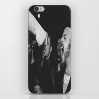 punk rock iPhone & iPod Skins featuring Punk Rock Karaoke by andradexcobain