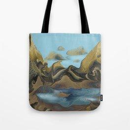 Imaginary Landscape Tote Bag