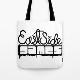 ESG Logo - Plain Black Tote Bag