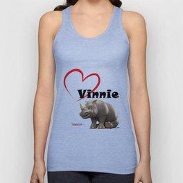 Love Vinnie  Unisex Tank Top