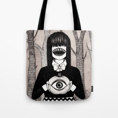 pumpkin eye Tote Bag