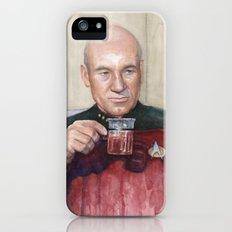 Captain Picard Earl Grey Tea | Star Trek Painting Slim Case iPhone (5, 5s)