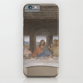 "Leonardo da Vinci ""The Last Supper"" iPhone Case"